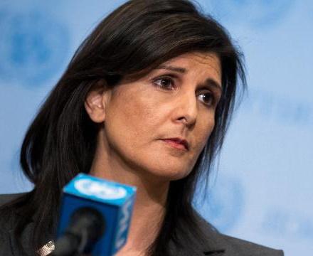 نماینده آمریکا در سازمان ملل استعفا کرد