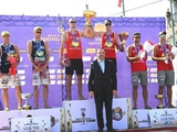 قزاقستان قهرمان تور والیبال ساحلی انزلی شد