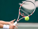 مشکاتالزهرا صفی بر سکوی قهرمانی تنیس جایزه بزرگ بانوان ایستاد