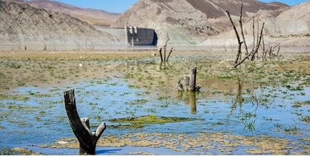 کاهش 14 درصدی میزان ذخایر سدهای ایران | 69 درصد مخزن سدهای تهران خالی است