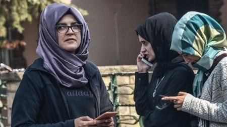 واکنش نامزد جمال خاشقجی به قتل همسرش | دل برای غمگین شدن است ...