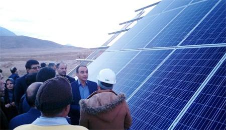 اصفهان | افتتاح پروژه آبرسانی باغات شهرستان تیران و کرون