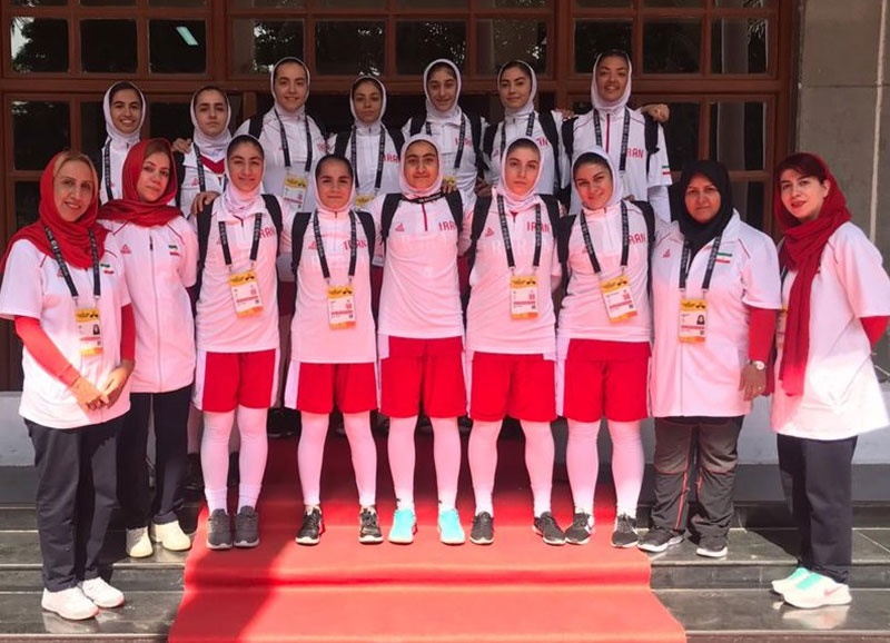 ایران مقام پنجم بسکتبال زیر ۱۸ سال دختران آسیا را به دست آورد