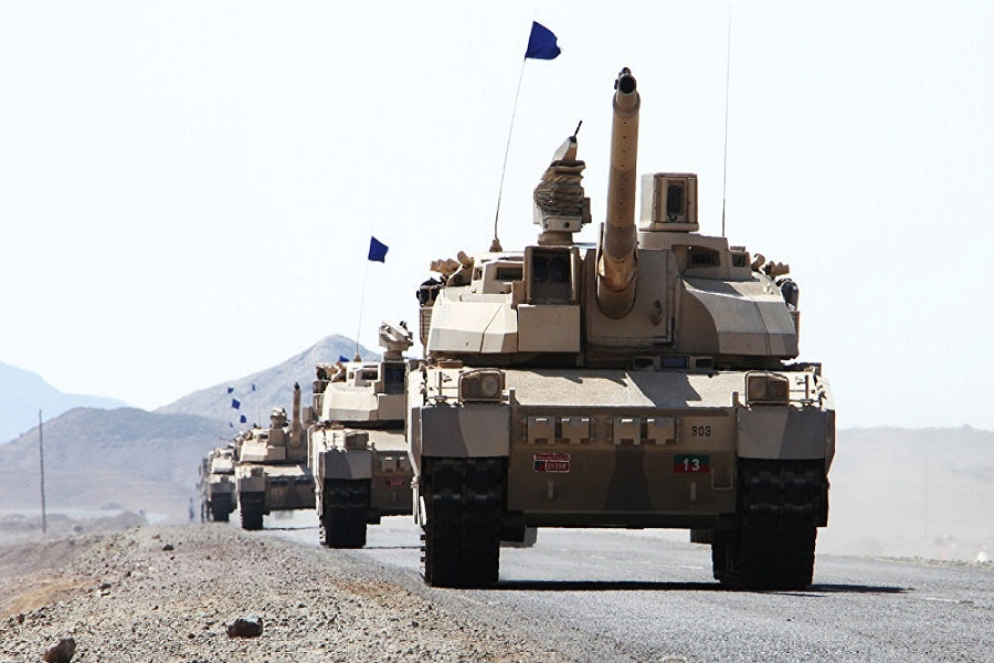 رزمایش مشترک ۶ کشور عربی در مصر آغاز شد