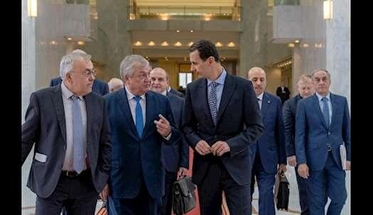 دیدار فرستاده ویژه روسیه با بشار اسد
