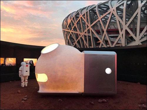 عکس | زندگی مریخی برای زمین