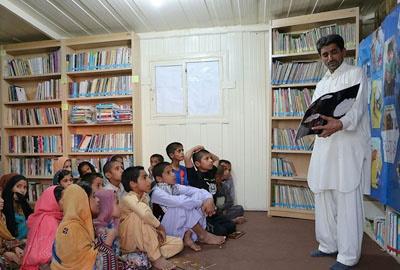 تشکیل ۵۰ باشگاه کتابخوانی در یکی از روستاهای سیستان و بلوچستان