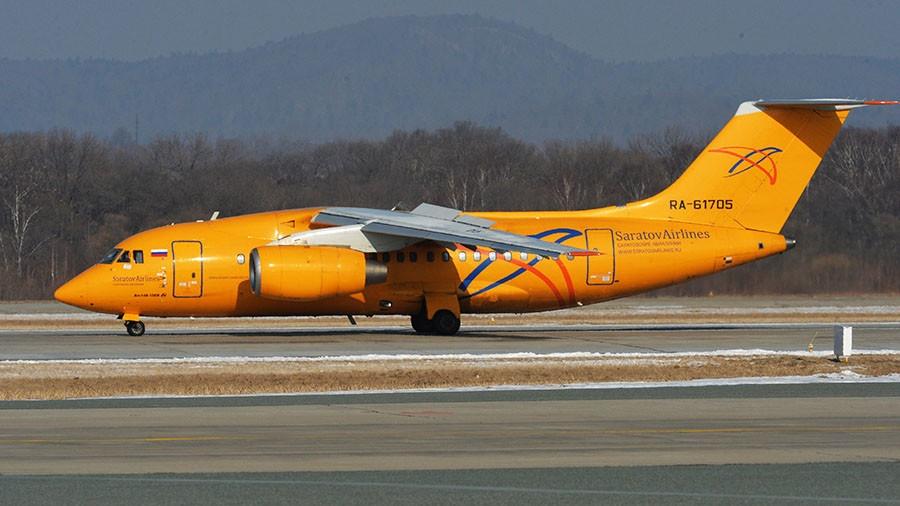 سقوط یک فروند هواپیمای مسافربری روسیه با ۷۱ سرنشین