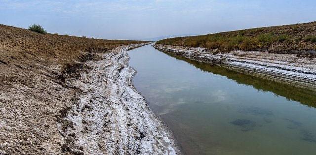 خشک شدن تالاب صالحیه البرز
