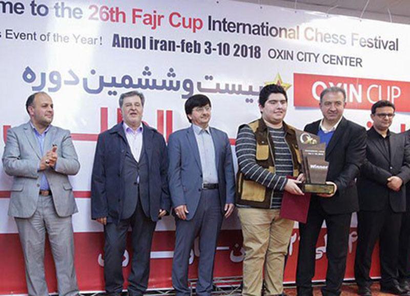 پرهام مقصودلو قهرمان بیست و ششمین دوره شطرنج جام فجر شد