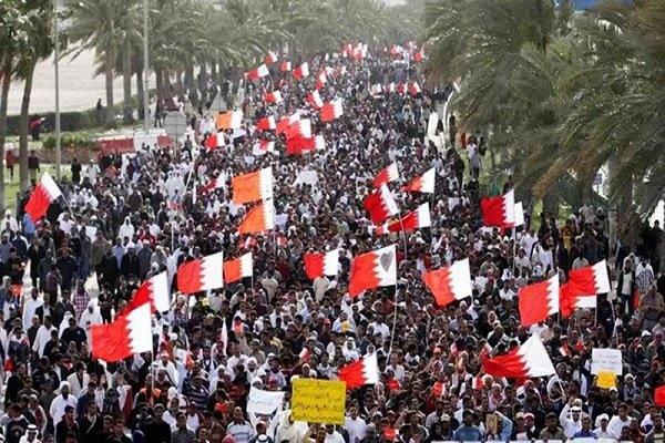 تظاهرات سراسری در هفتمین سالگرد انقلاب بحرین | درگیری نیروهای امنیتی با مردم