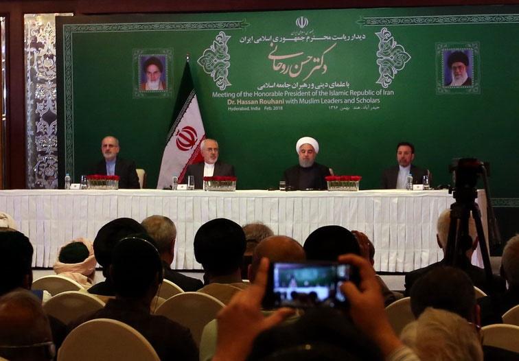 روحانی: حامل پیام برادری و دوستی از سوی ملت ایران به ملت هندوستان هستم