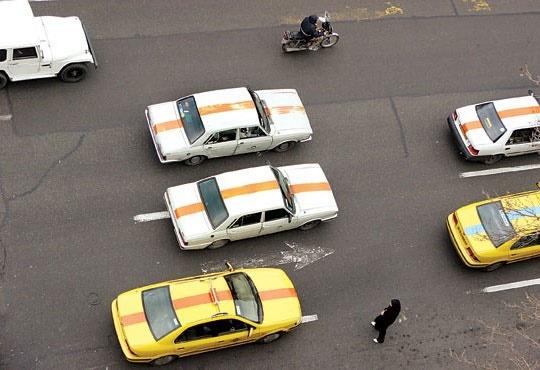 تردد ۱۰ هزار تاکسی پیکان در شان کشور نیست