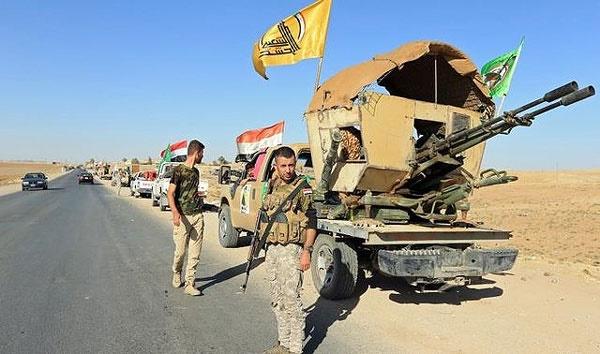 کشته و ربوده شدن ۴۰ نیروی حشد شعبی توسط داعش