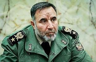 امیر کیومرث حیدری فرمانده نیروی زمینی ارتش