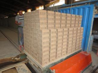 تولید آجر با پسماند کارخانه شن و ماسه