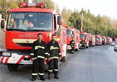 ۱۰۰۰ تیم آتشنشانی تهران برای مقابله با مخاطرات چهارشنبهسوری