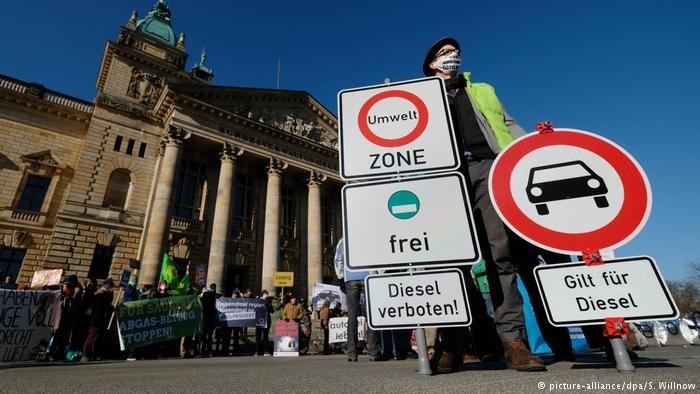 رای دادگاه عالی فدرال آلمان درخصوص ممنوعیت رفت وآمد خودروهای دیزلی