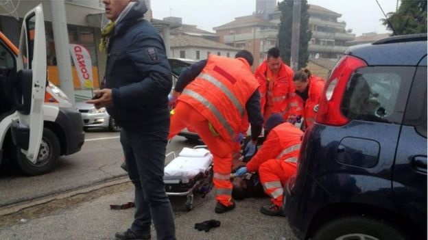 تیراندازی به عابران در یکی از شهرهای ایتالیا