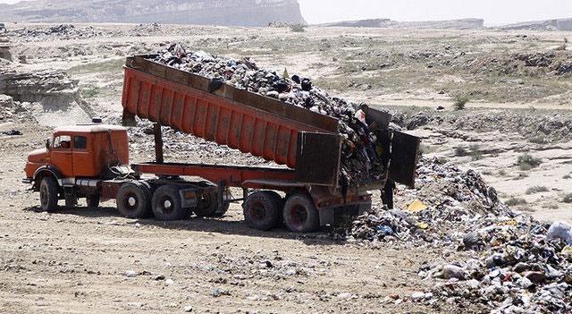 ضرورت مدیریت کامیونهای مخصوص حمل نخالههای ساختمانی