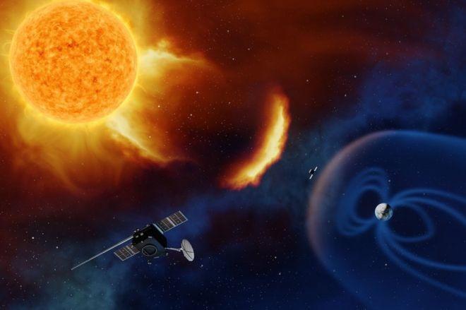 ایجاد پست دیدهبانی برای خورشید توسط اروپا