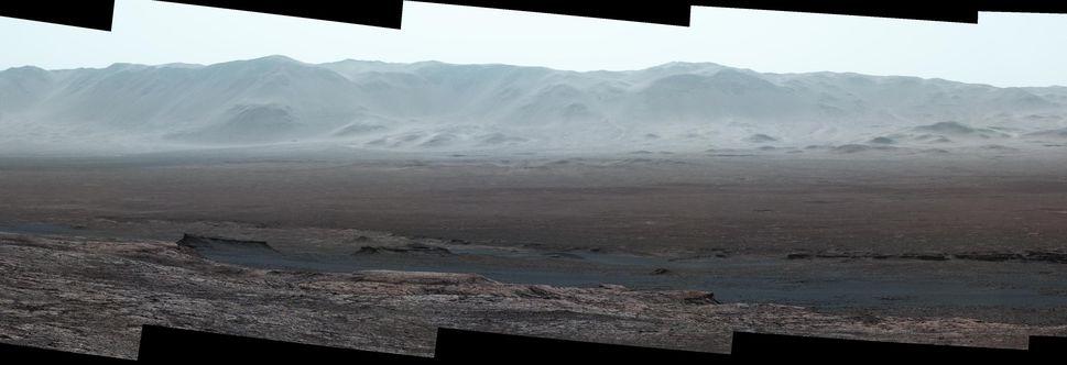 پنجسال گشت و گذار در مریخ در قالب یک عکس پانوراما