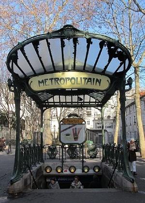 متروی پاریس ایستگاه  Abbesses