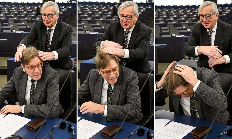 عکس روز: شوخی اروپایی