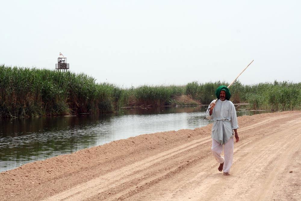 بخش شمالی هورالعظیم در خاک عراق پایش شد