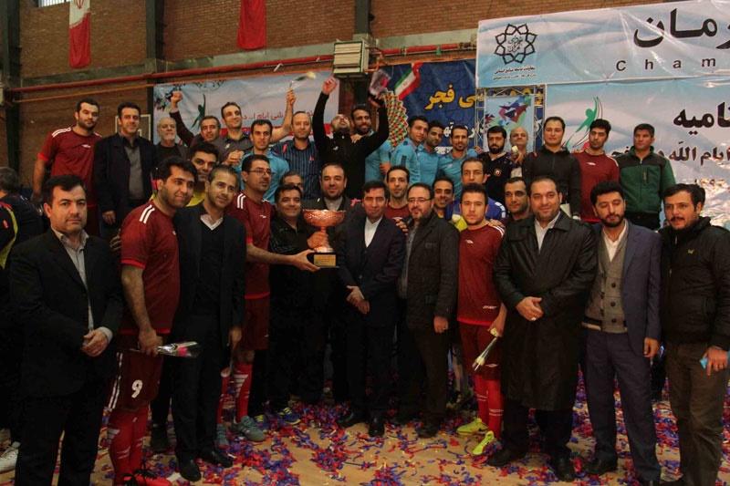 تصاویر فینال مسابقات فوتسال اداره کل رفاه، تعاون و خدمات اجتماعی شهرداری تهران