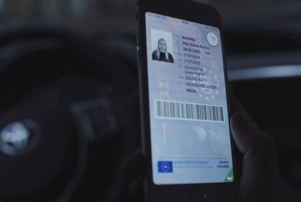 اپلیکیشن گواهینامه در فنلاند