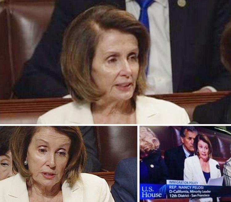 پلوسی رکورد سخنرانی در مجلس آمریکا را شکست: ۸ ساعت