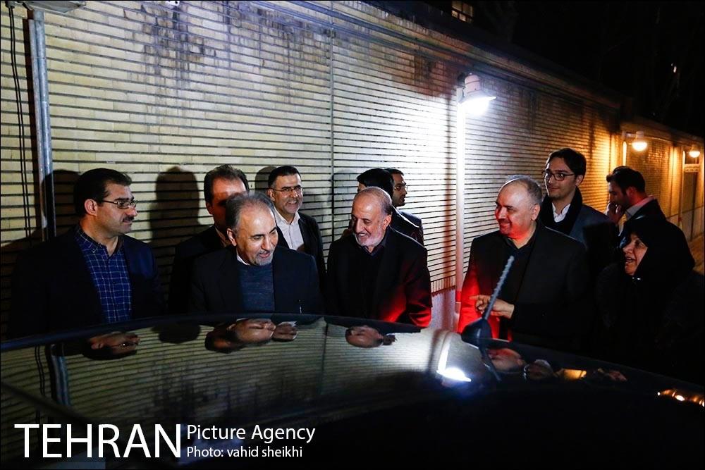 اکران فیلم تنگه ابوقریب برای کارکنان فضای سبز شهرداری تهران