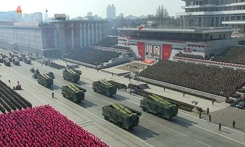 کره شمالی پیشرفته ترین موشک قاره پیما را رونمایی کرد