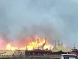 آتش سوزی در مهمترین معبد تبت