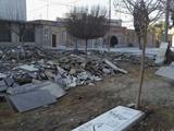 نامه شهرداری به اوقاف برای توقف تخریب قبور قدیمی امامزاده عبدالله