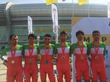 پایان تلاش رکابزنان ایران در رقابتهای پیست و جاده آسیا با کسب ۷ مدال