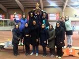 تهران بر سکوی قهرمانی دو و میدانی داخل سالن جوانان دختر ایستاد