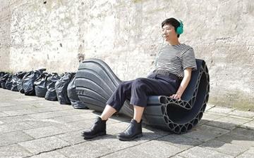 پسماندهای پلاستیکی را به مبلمان شهری تبدیل کنیم