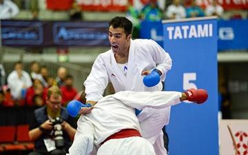 پایان کار کاراتهکاهای ایران در مرحله دوم لیگ کاراته وان با یک نقره و ۵ برنز