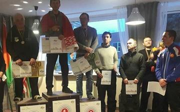 مقام سوم تیمی و عنوان چهارم علیرضا عمیدی در مسابقات پاراگلایدر لیتوانی