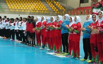 هندبال بانوان غرب آسیا؛ پیروزی پرگل نماینده ایران برابر قطر