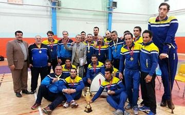 جامعه معلولین مازندران قهرمان لیگ برتر والیبال نشسته شد