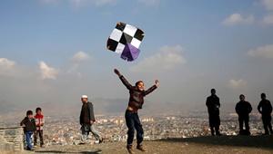 عکس روز: بادبادکبازی در کابل