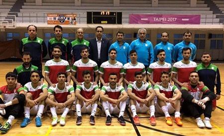 تیم ایران در فینال فوتسال جام ملت های آسیا