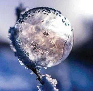 تولید یخ لیزری؛ همزمان جامد و مایع