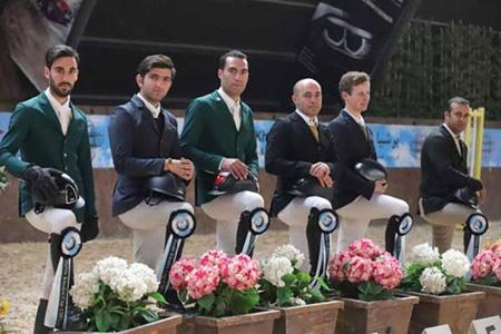 مسابقات بین المللی پرش از مانع دهه فجر با قهرمانی سوارکار هلندی پایان یافت
