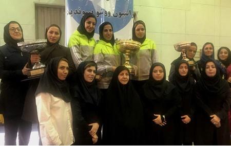 قهرمانی مقتدرانه دختران اصفهان در مسابقات ووشوی رده های سنی کشور