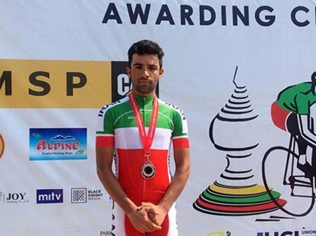 گنج خانلو نایب قهرمان استقامت جاده آسیا شد