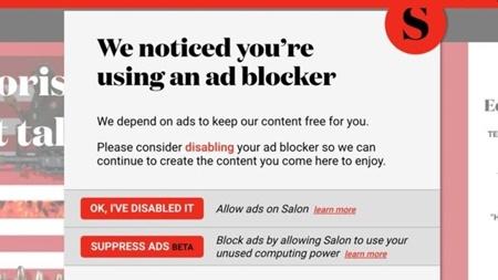 استفاده یک مجله از قدرت رایانه های مخاطبانش در ازای ندیدن تبلیغات